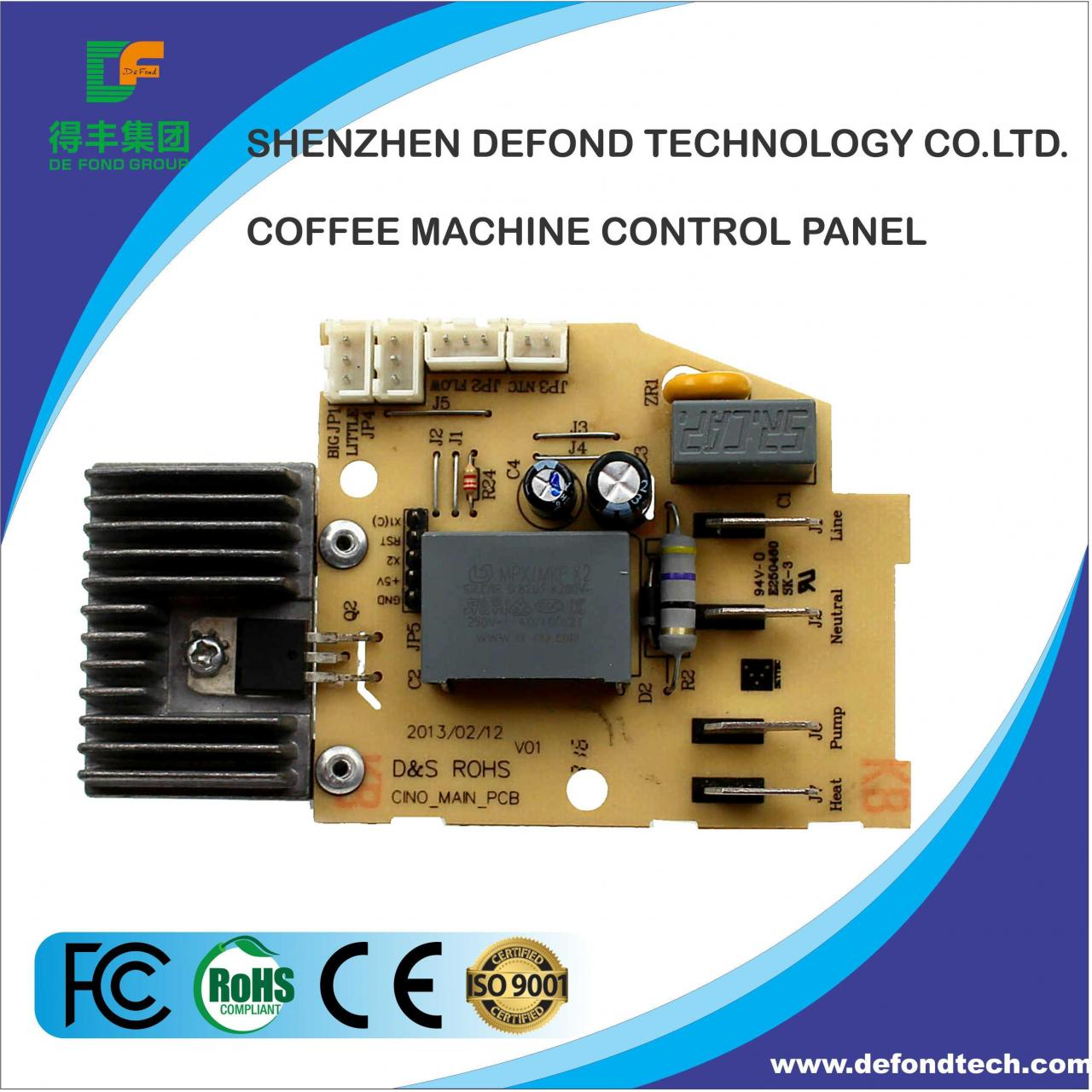 Buy cheap PCB Equipment Coffee Machine Control Panel from wholesalers