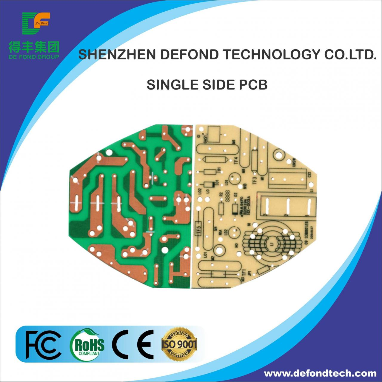 Buy cheap PCB Equipment Single Side PCB from wholesalers