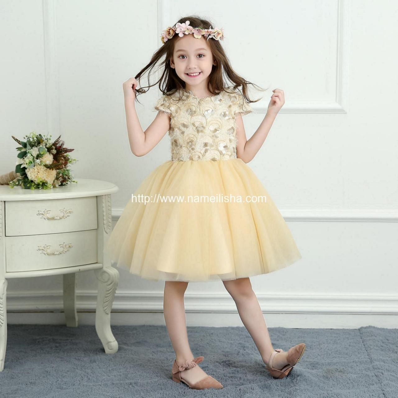 Buy cheap A-Line Wedding Dress (10) Flower Girls Dress SKU: t0023 - In Stock from wholesalers