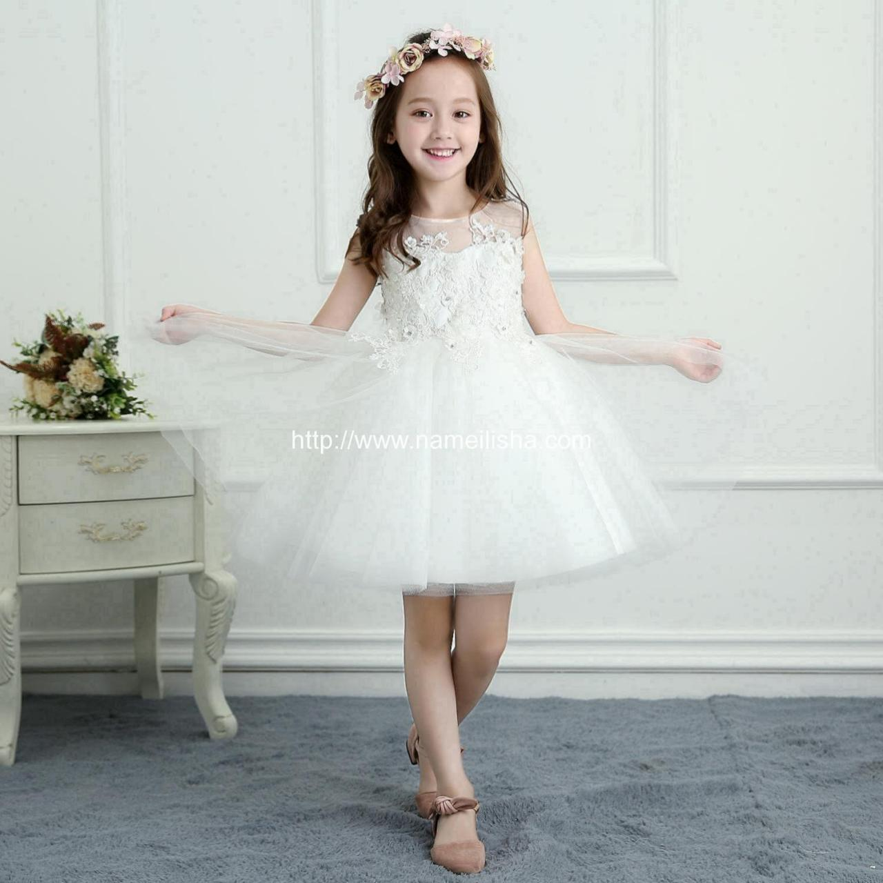 Buy cheap A-Line Wedding Dress (10) Flower Girls Dress SKU: t0005 - In Stock from wholesalers