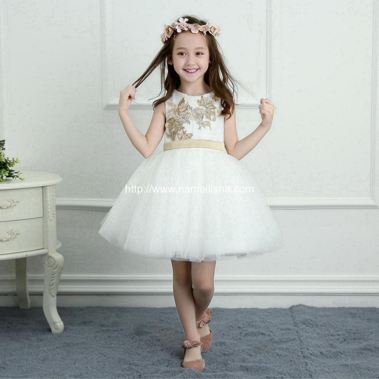 Buy cheap A-Line Wedding Dress (10) Flower Girls Dress SKU: t0011 - In Stock from wholesalers