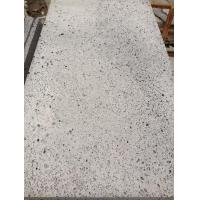 Marble Big Hole Lava Stone In Grey Color For Paving And Flooring