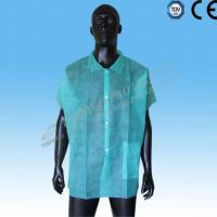 Head Protection Lab coat with short sleeves