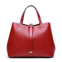 Buy cheap Women Bags Genuine Leather Woman Handbag Tote Satchel Crocodile Embossed XL0877 product