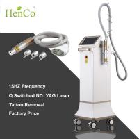 Buy cheap Shock Wave 15Hz ND YAG laser 3 tips q-switch Tattoo Removal Diode Laser Beauty Machine product