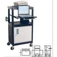 Buy cheap Computer Workstation 18-3/4 X 24 X 44-3/4 Inch 1 Shelf Black, Grey from wholesalers