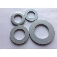 Buy cheap Metric Carbon Steel Flat Washers , Industrial Round Plate Washer DIN 125 product