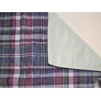 China Plaid Quilted Bed Pad on sale
