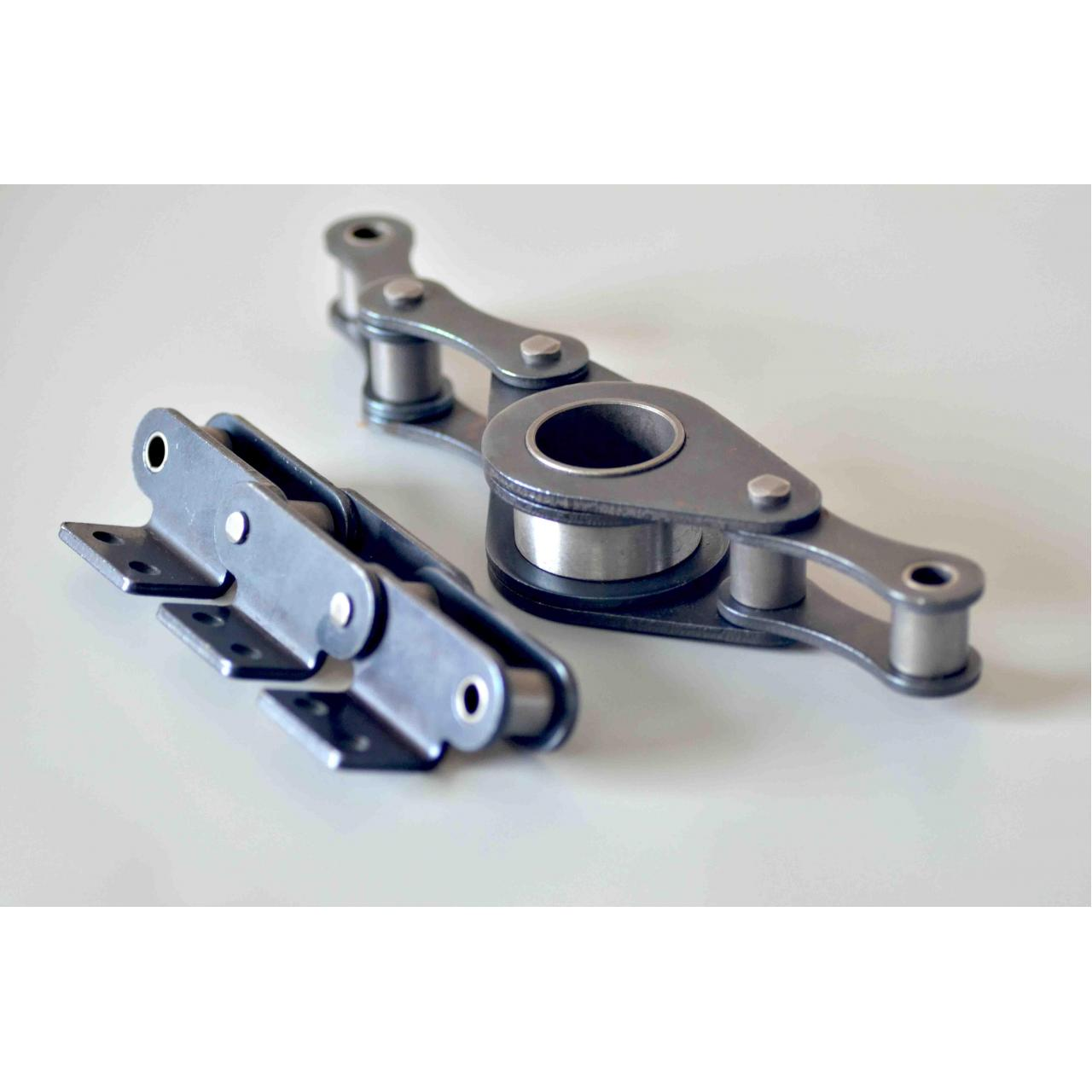 Agricultural chains for in corn, wheat, rice harvester and sealing agricultural machines