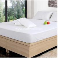 China Hotel Bed Linen Wholesale Poly/cotton Bed Fitted Sheet and Flat Sheet on sale