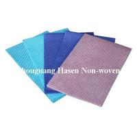 China Chemical bond non woven cleaning cloths on sale