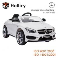 Buy cheap Mercedes-Benz License Car Baby Electric Outdoor Ride on Toys Car with EVA Tire SX1538 product