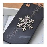 snowflake rhinestone cabochon party decoration JEWELRY