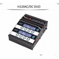China New Arrival H120ACDC DUO port RC lipo battery charger with the best factory price on sale