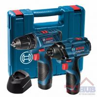 Buy cheap Bosch GSR 120-LI + GDR 120-LI Combo Kit from wholesalers