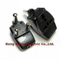Buy cheap WDIII-10L Grounded Universal 3 in 1 Plug Adapter,big south Africa,India plug,Hongkong adaptor,16A La product