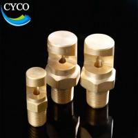 Buy cheap Wide Angle Brass Flat Fan Nozzle Spray Flood Jet Spray Nozzles product