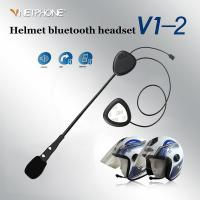 China Two-ear helmet bluetooth headset for motorcycle rider-V1-2 on sale