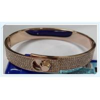 Stainless steel bracelet with crystal Czech stone