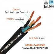Buy cheap H07RN-F rubber cables manufacture from wholesalers