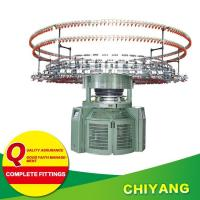 Buy cheap Knitting machine Product Center Double jersey jacquard with stripers from wholesalers