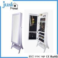Buy cheap Standing Mirror Jewelry Armoire Free Standing Jewelry Armoire from wholesalers