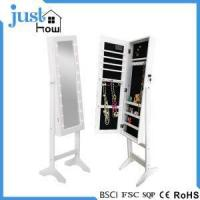 Buy cheap Standing Mirror Jewelry Armoire Standing Jewelry Cabinet from wholesalers
