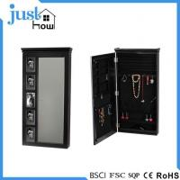 Buy cheap Wall Mounted Jewelry Armoire Black Wall Mount Jewelry Armoire from wholesalers
