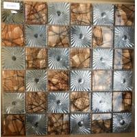Buy cheap Mosaic 48x48 Electroplated Mixed Resin for Wall Decoration Mosaic from wholesalers
