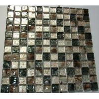 Buy cheap Mosaic 23x23 Foshan Construction Patterns Resin Mosaic Glass Tile from wholesalers