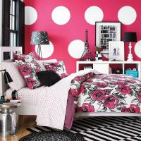 Buy cheap Black White And Pink Bedroom Room Ideas from wholesalers