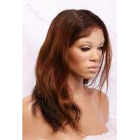 Buy cheap Alexa T-#2/#30 Natural Straight Full Lace wig in 14 inches product