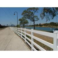 Buy cheap PVC 4 Rails Horse Fence product