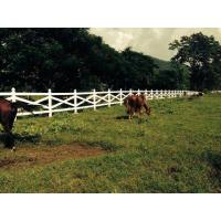 Buy cheap PVC Cross Rail Horse Fence product