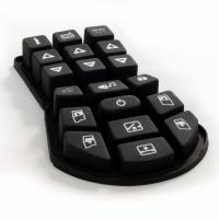 Buy cheap Rubber keypad for Remote Control from wholesalers