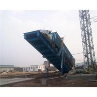 China 100T Container Truck Loading and Unloading Platform, Container Truck Unloader on sale
