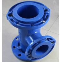 China Ductile Iron Tee with all loose flange on sale