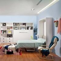 Buy cheap Baby room furniture set folding kids bunk wall bed product