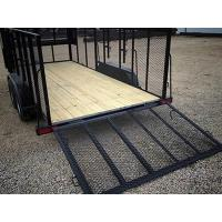 Expanded Metal Landscape & Utility Trailers with High Bearing Capacity