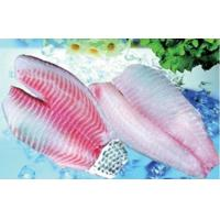 Buy cheap Frozen Tilapia Fillets Kosher Fillet-Tail Skin on from wholesalers