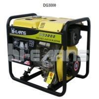 Buy cheap China / Hiearns / Open Frame Type Air-cooled Diesel Engine Generator / DG3000 from wholesalers