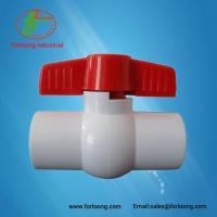 Buy cheap uPVC White Color Ball Valves from wholesalers