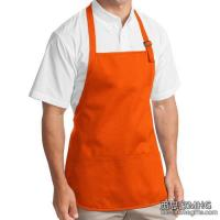 Buy cheap Apparel & Clothing AA1002Medium Length Apron With Pouch Pockets product