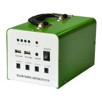 China 20W small dc solar system home use high efficient power lighting solar inverter generator on sale