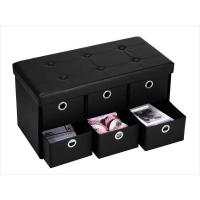 Buy cheap Foldable Storage Ottoman from wholesalers