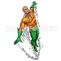 Buy cheap Aquaman Iron ons (Wall Stickers) Model: SuperheroIronons-0334 from wholesalers