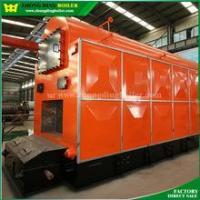 Solid fuel boiler with lower combustion system Coal Steam Boiler With Chain Grate Furnace