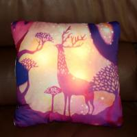 China 3D Printed Cushion With Led Light on sale