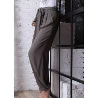 Buy cheap SWEATERS Women's High Waist Casual Flared Artificial Cotton Pants|Trousers from wholesalers