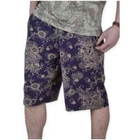 Buy cheap Men's Relax Floral Print knee-length Summer Cotton Shorts from wholesalers